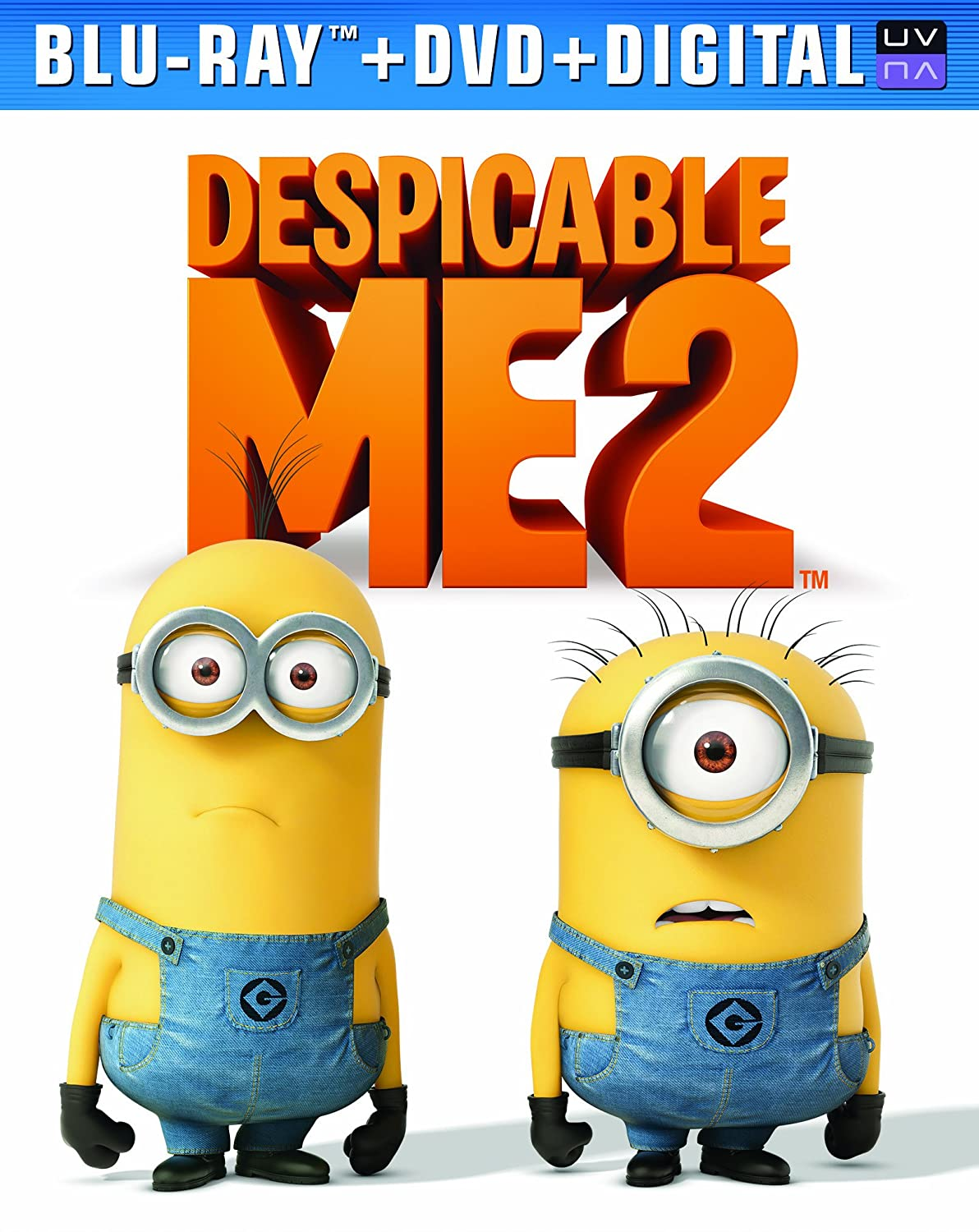 Despicable Me 2 Blu-ray DVD