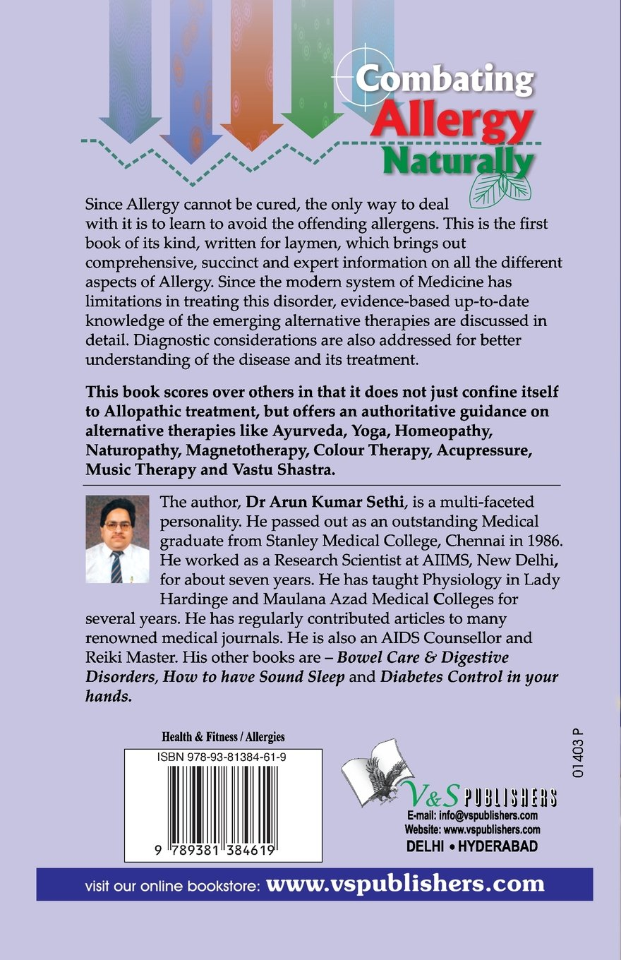 Colour therapy for sciatica - Colour Therapy For Vastu Buy Combating Allergy Naturally Book Online At Low Prices In India