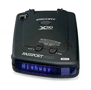 Escort Passport 8500X50 Black
