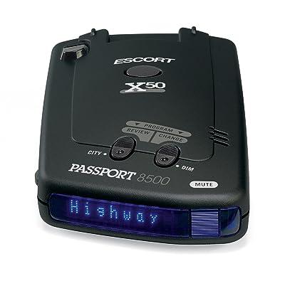 Escort Passport 8500X50 Black Radar Detector
