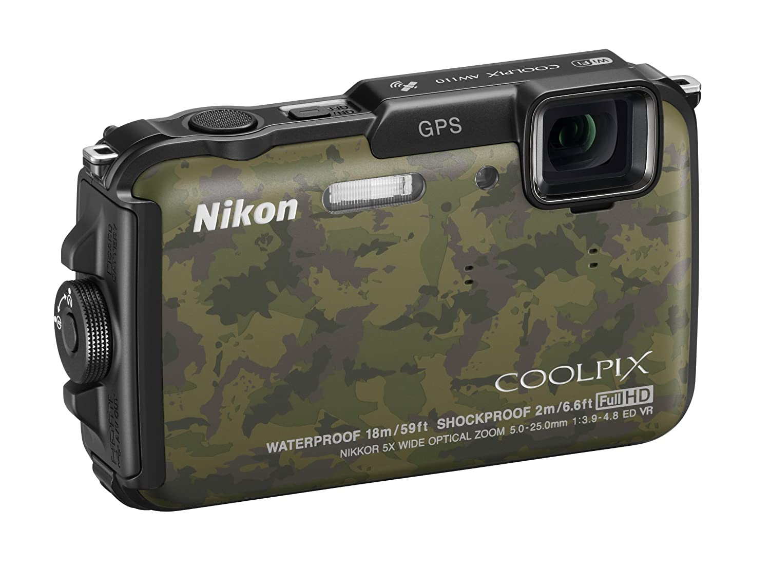 new nikon waterproof coolpix aw110