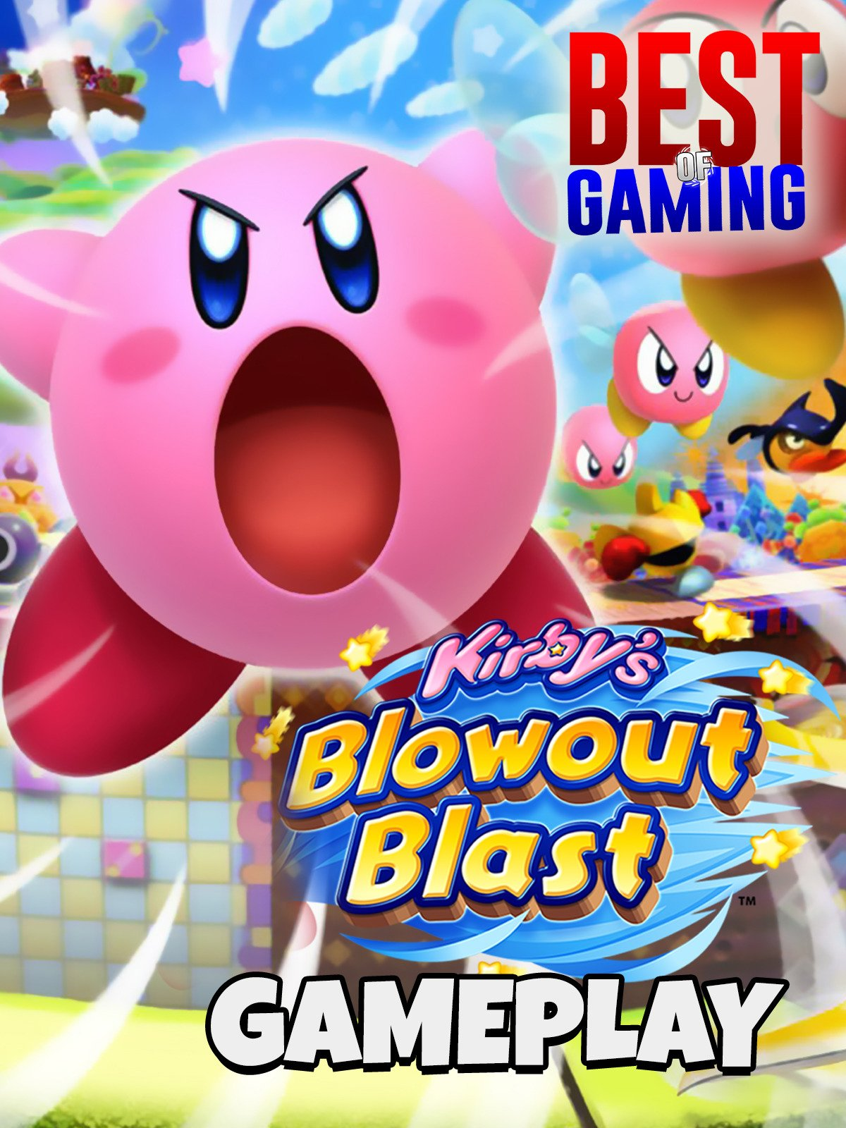 Clip: Kirby's Blowout Blast Gameplay