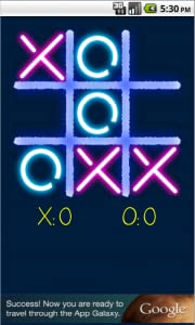 Glow Tic Tac Toe by Arclite Systems Ltd.