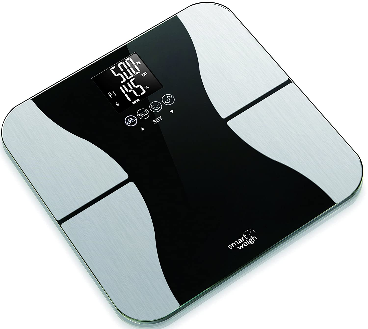 Smart Weigh SBS500 Electronic Glass Body Fat Scale