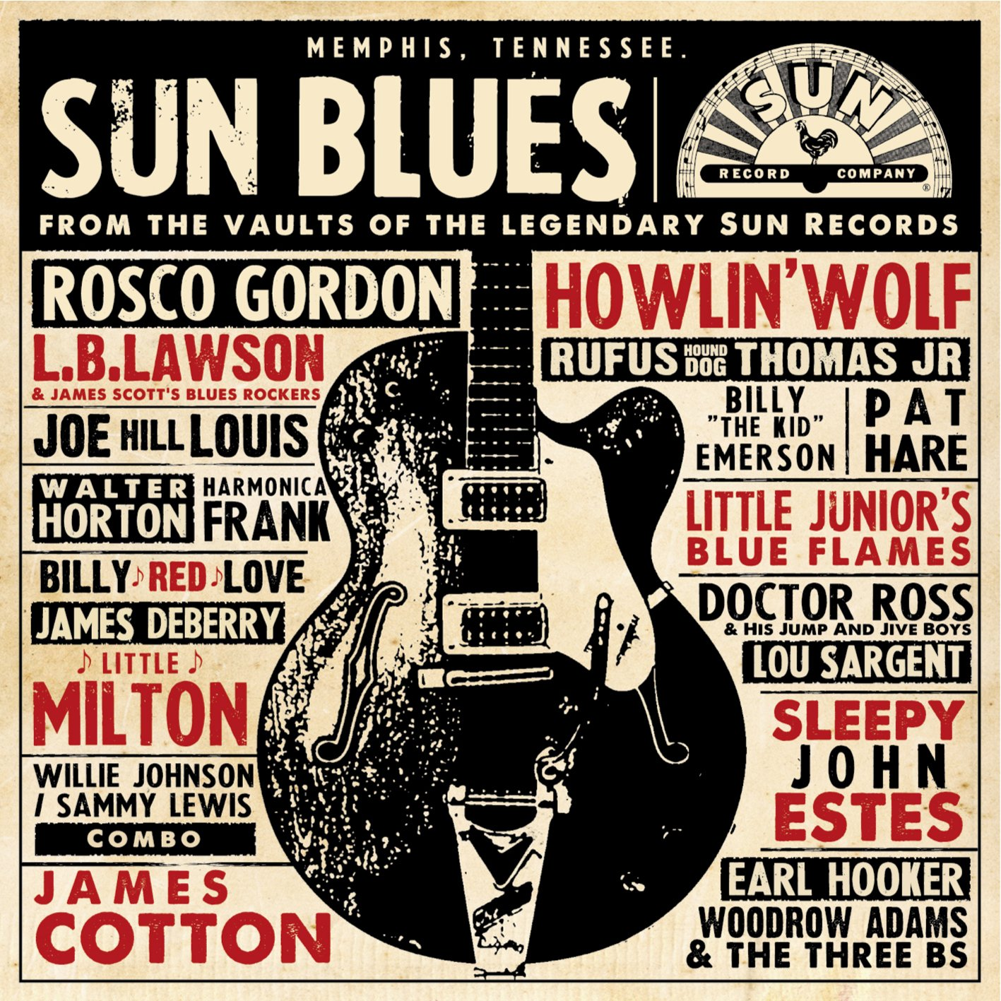 Sun Blues : From The Vaults Of The Legendary Sun Records