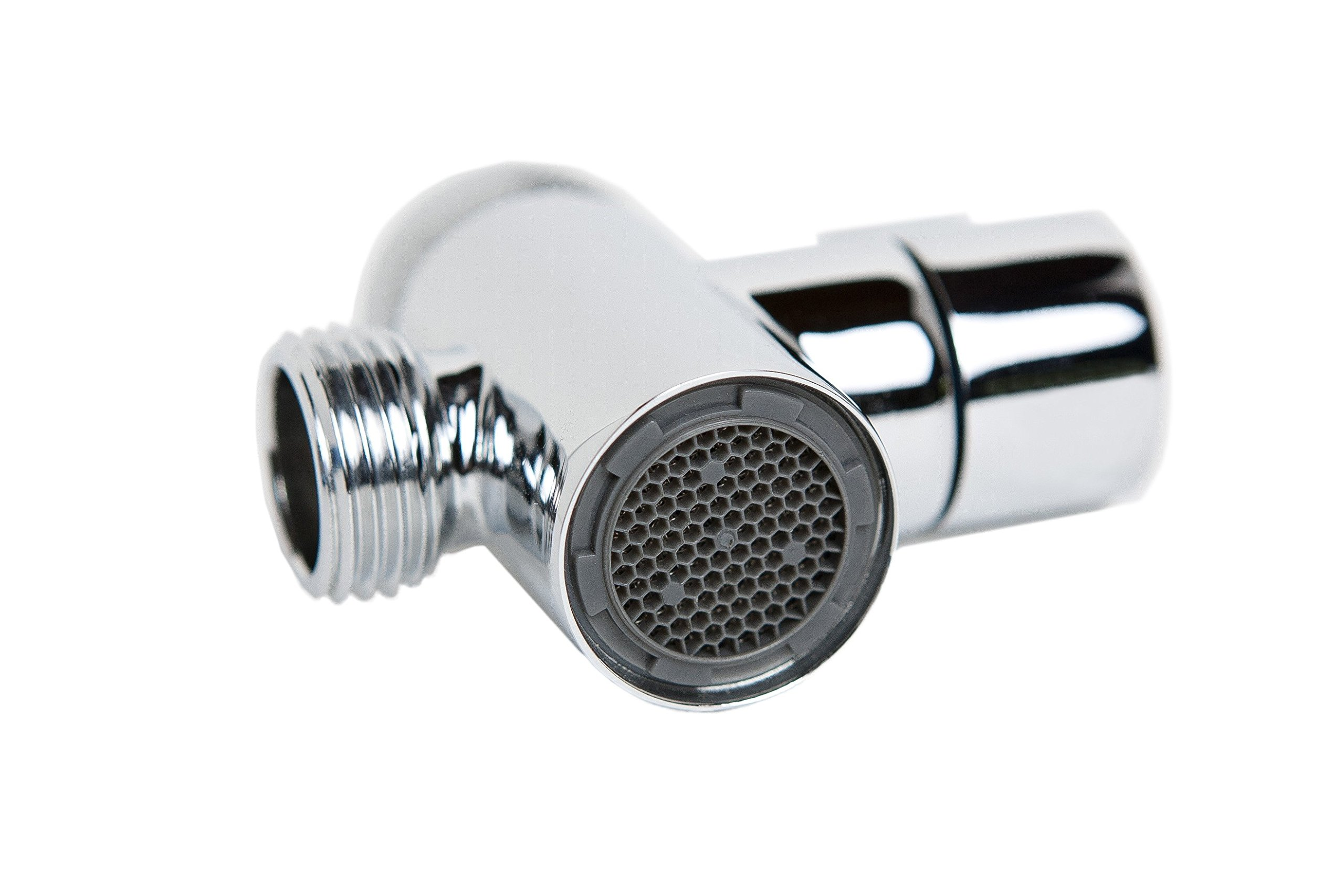 Smarterfresh faucet diverter valve with aerator and male