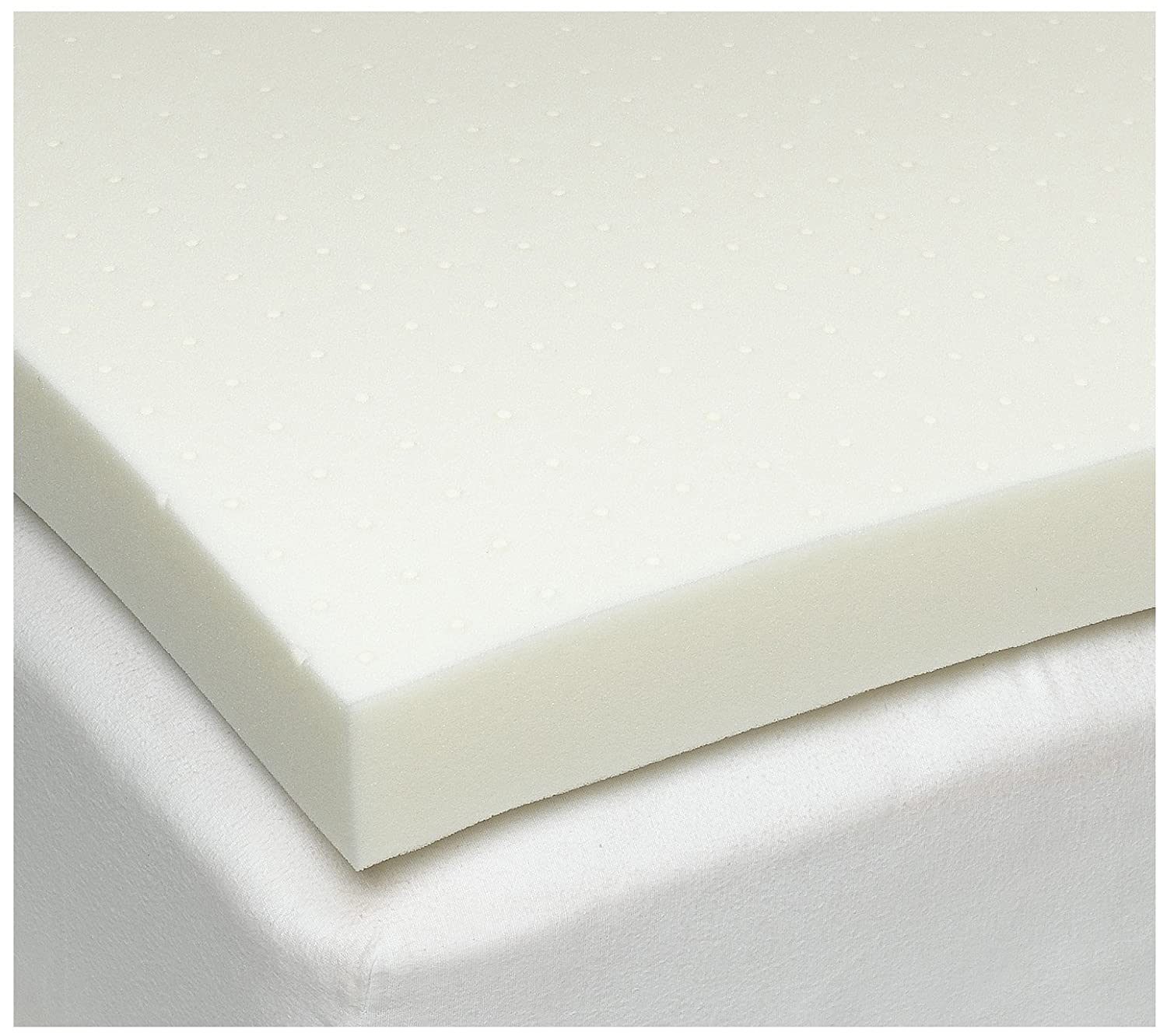 Who Sells The Cheapest Contour Pillow Included With Cal-King 1.5 Inch Soft Sleeper 6.5 Visco Elastic Memory Foam Mattress Topper USA... On Line
