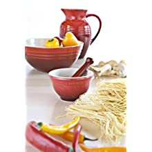 Le Creuset Stoneware 2-1/4-Quart Pitcher, Cherry