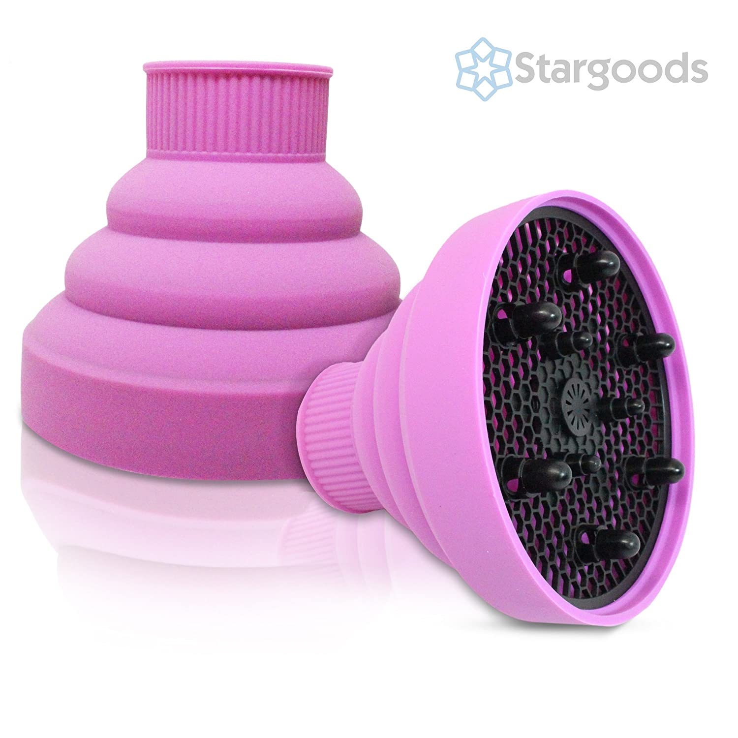 Stargoods Silicone Hair Dryer Diffuser Pink