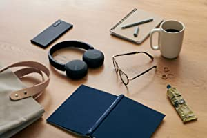 Sony WH-CH510 Wireless On-Ear Headphones, Black (WHCH510/B) (Color: Black, Tamaño: One Size)