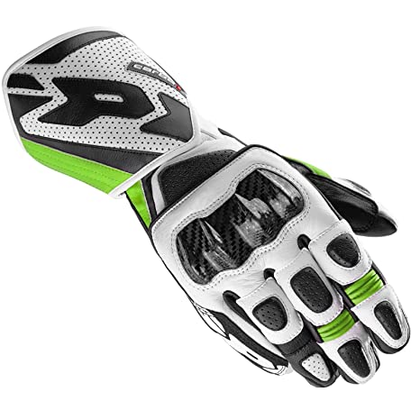 Spidi a 147-494 sport paire de gants de moto cARBO 1, black/green