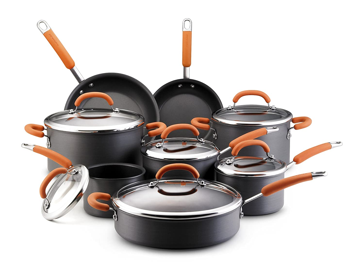 Rachael Ray Hard Anodized 14 pc set