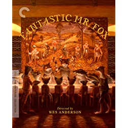 Fantastic Mr. Fox The Criterion Collection [Blu-ray]