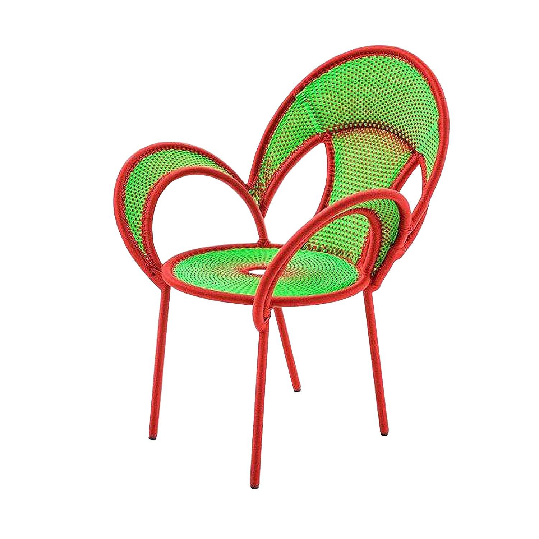 Banjooli Armlehnstuhl hellgrün/rot günstig online kaufen