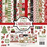 Echo Park Paper Company A Perfect Christmas Collection Kit (Tamaño: 12-x-12-Inch)