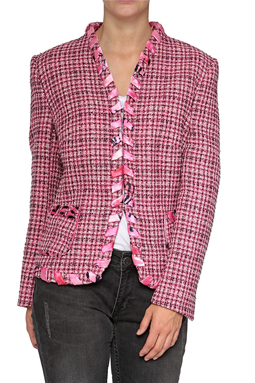 Basler Damen Blazer PINK ZEBRA WB, Farbe: Pink günstig kaufen