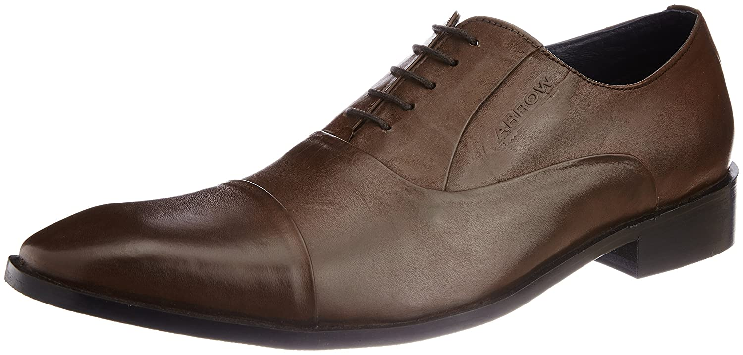 Arrow Men's Leather Formal Shoes on Amazon India