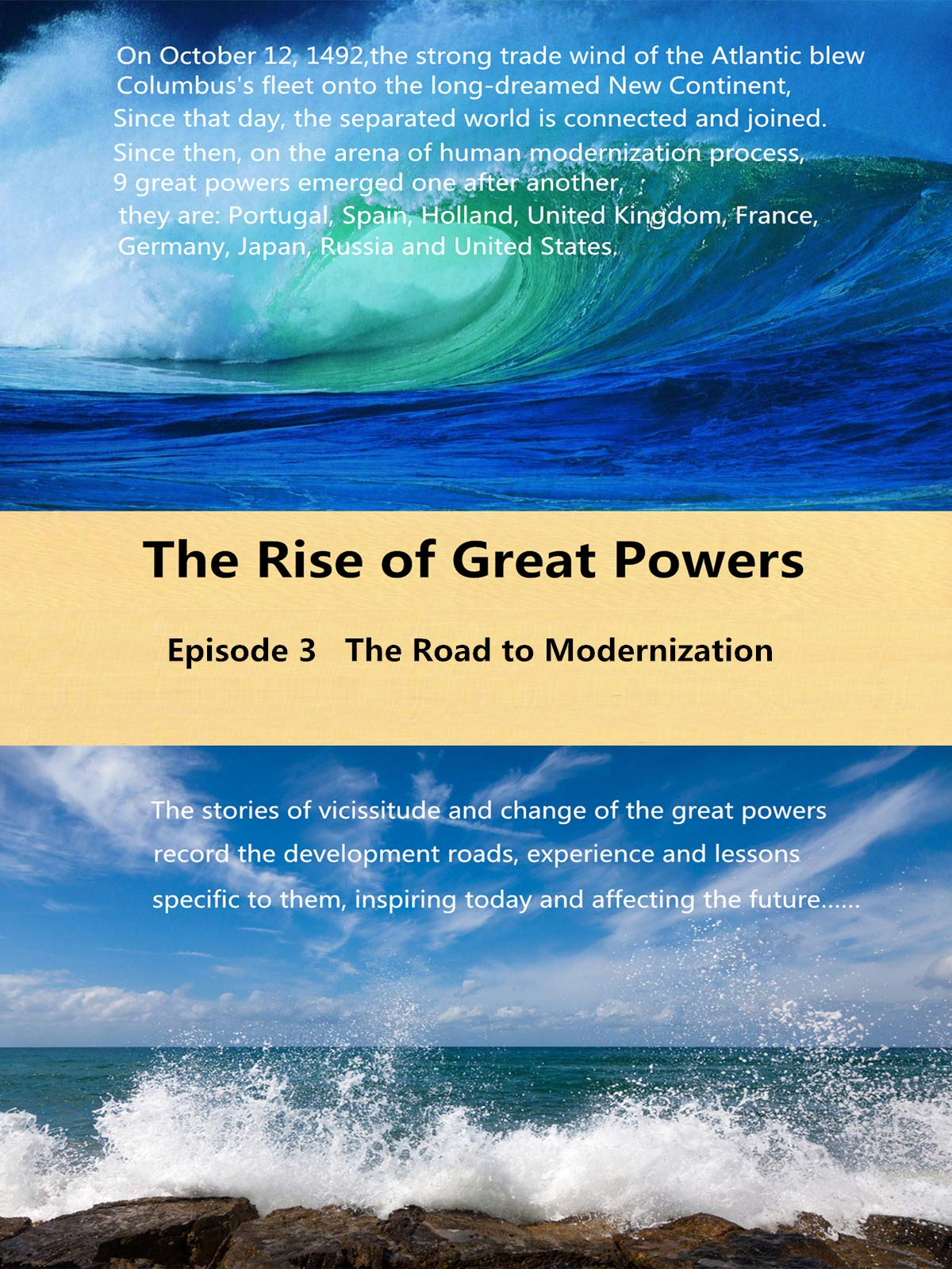 The Rise of Great Powers - Episode 3 on Amazon Prime Instant Video UK