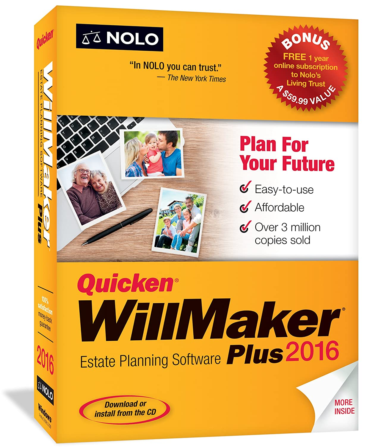 Quicken WillMaker Plus 2016