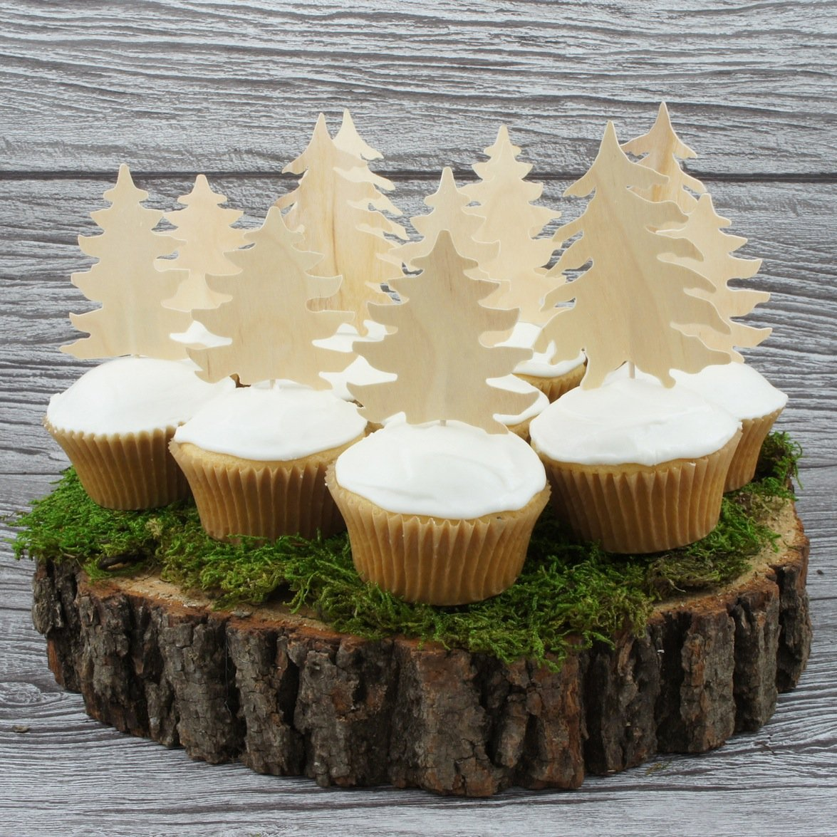 Forest Cupcake Toppers
