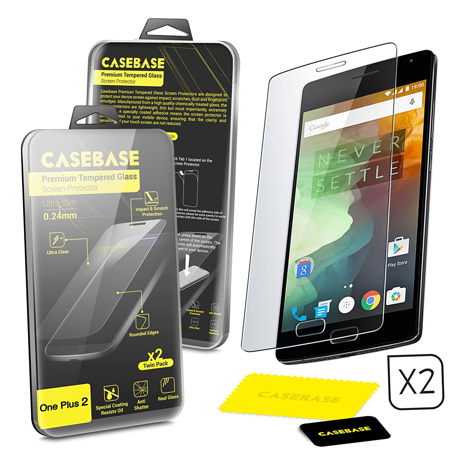 new product 95b92 13032 Casebase Tempered glass for OP2 on sale!!! - OnePlus Community