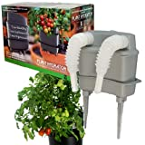 Plant Hydrator [Beat Summer's Heat This Season ] Confidently Grow Your Vegetables an All [New Self Watering System Device for Container Gardening][Fits Any Planter Pot Grow Bags Bulbs Spikes]