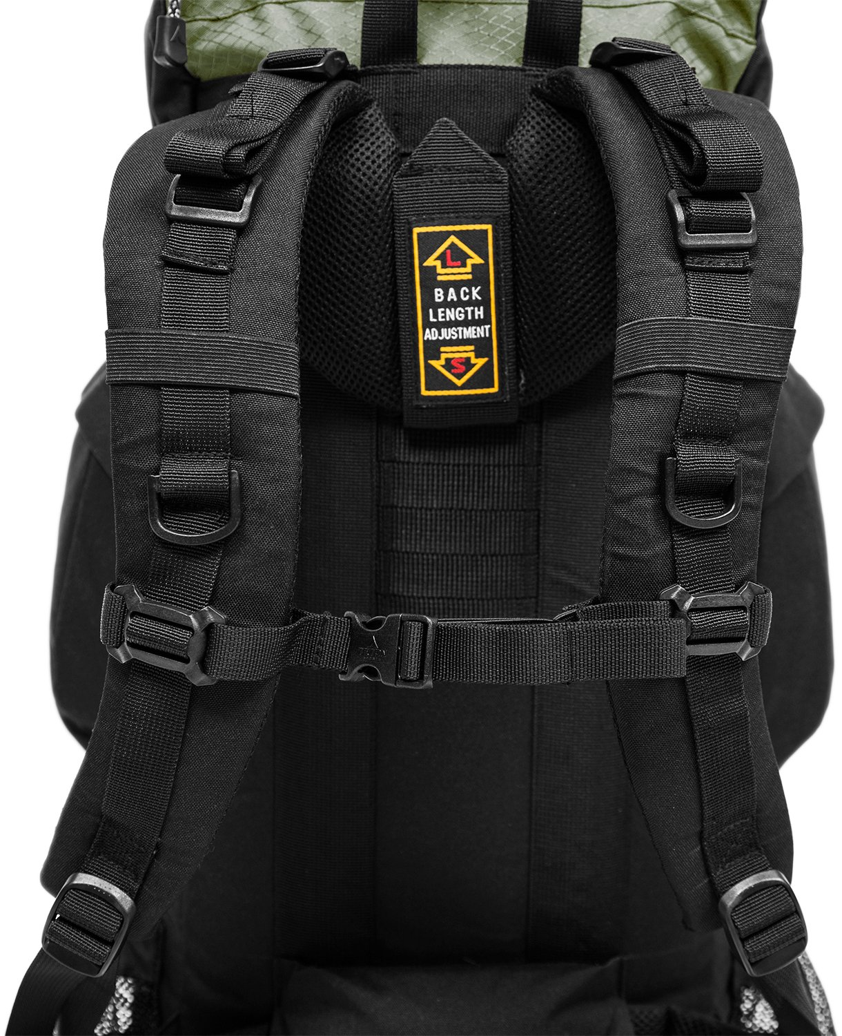 Chest and shoulder straps, TETON Sports Scout 3400 backpack