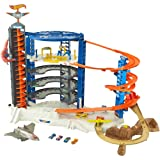 Hot Wheels Super Ultimate Garage Play Set With Pterodactyl Play Area (Tamaño: Play Set With Pterodactyl Play Area)