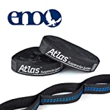 ENO - Eagles Nest Outfitters Atlas Hammock Straps, Suspension System (Color: Black, Tamaño: One Size)