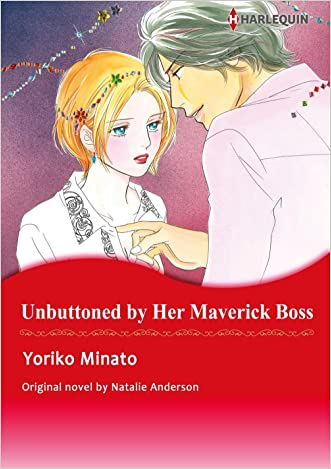 UNBUTTONED BY HER MAVERICK BOSS (Harlequin comics)