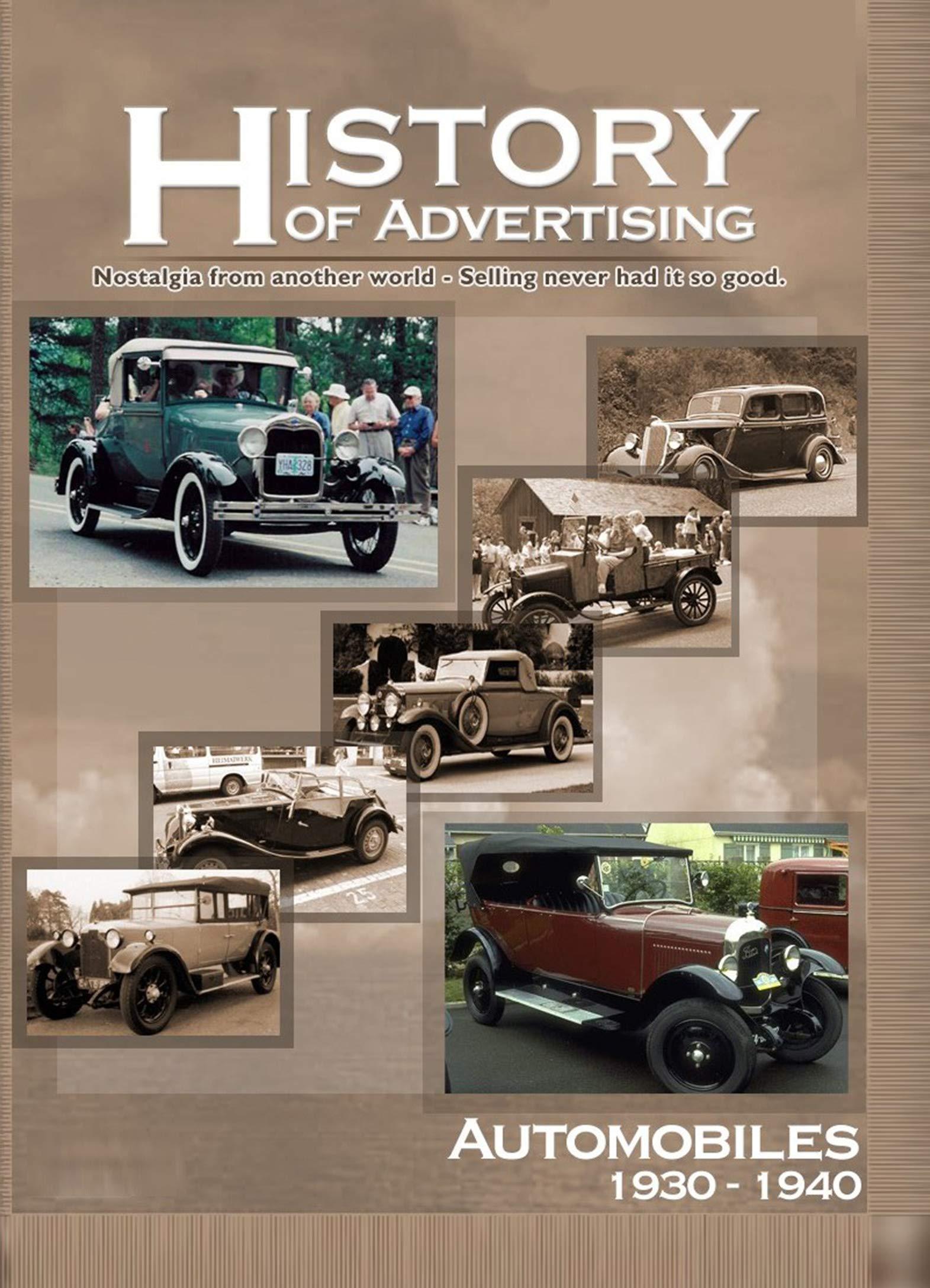History of Advertising - Automobiles (1930-1940) on Amazon Prime Video UK
