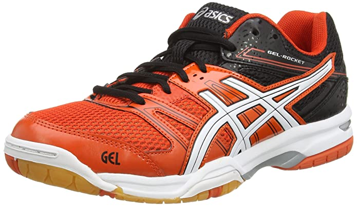 Red And Black Asics Volleyball Shoes Volleyball Shoes Red