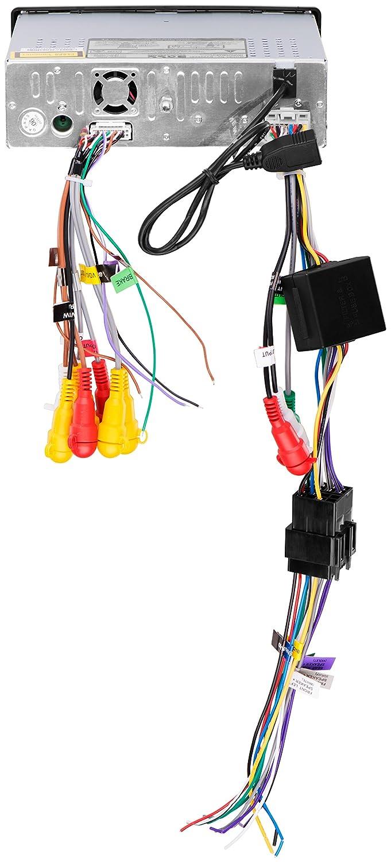 Boss Audio Bv9973 Wiring Diagram Bv9976b Bv9986bi In Dash Single Din Bluetooth