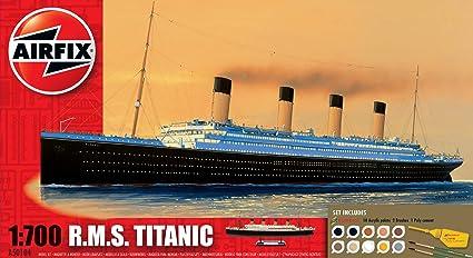 Airfix - AI50104 - Maquette - Titanic Gift Set