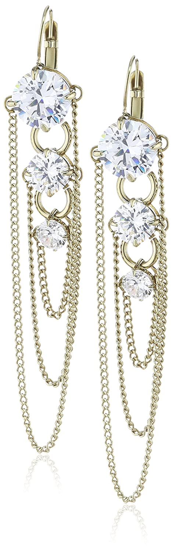 Dyrberg/Kern Damen-Ohrhänger Vergoldetes Metall Melance sg crystal 334567 online kaufen