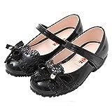 Ozkiz Toddler Girls & Little Girls Flat Shoes With Ribbon BK 12M
