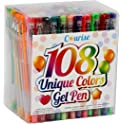Craft Art Supplie Courise 108 Unique Colors Gel Pen Set