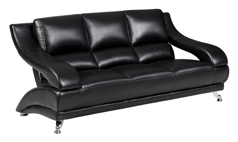 Global Furniture U982 - DTP672P - S Pluto Sofa - Black