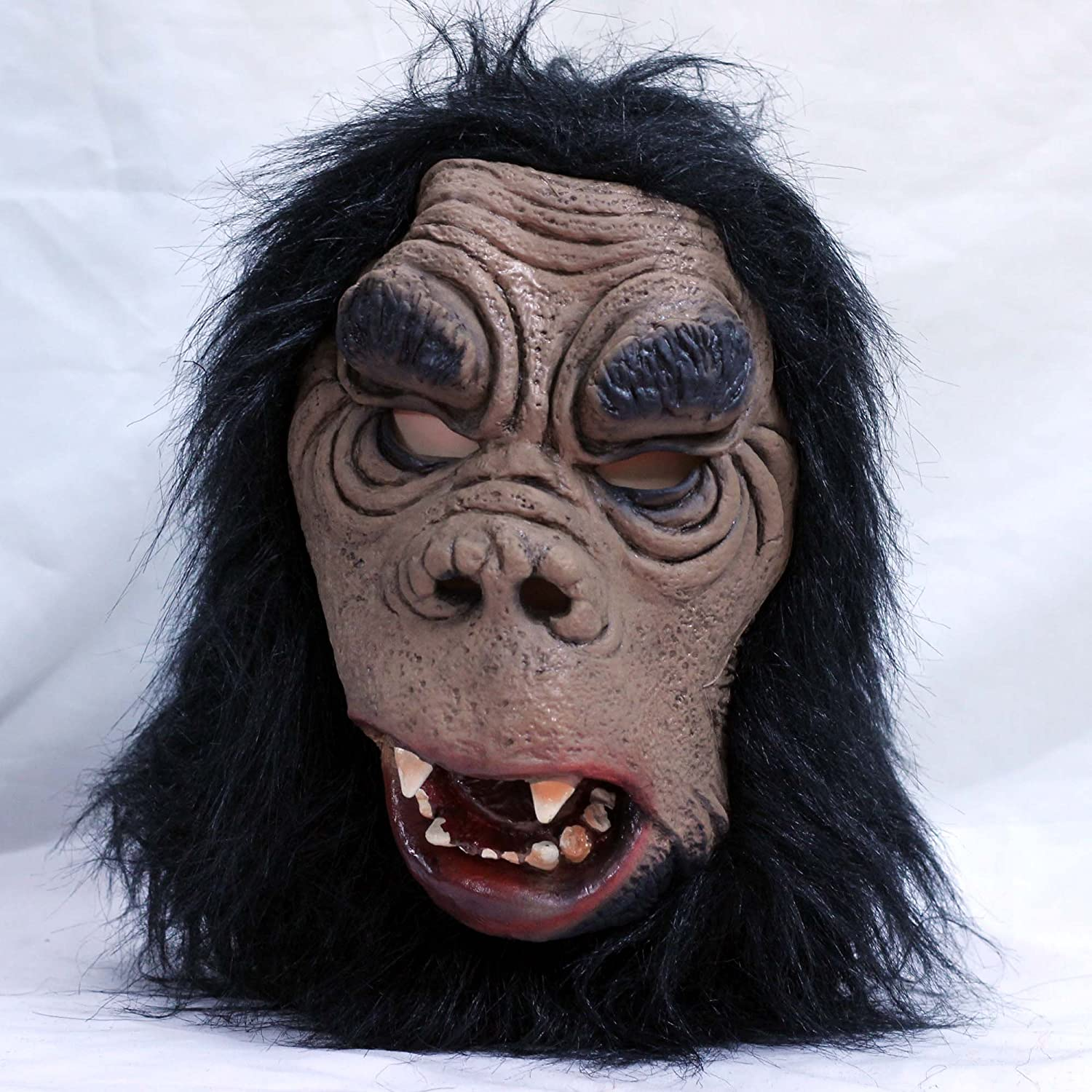 Buy Creepy Halloween Gorilla Costume Theater Rubber Scary Horror ...
