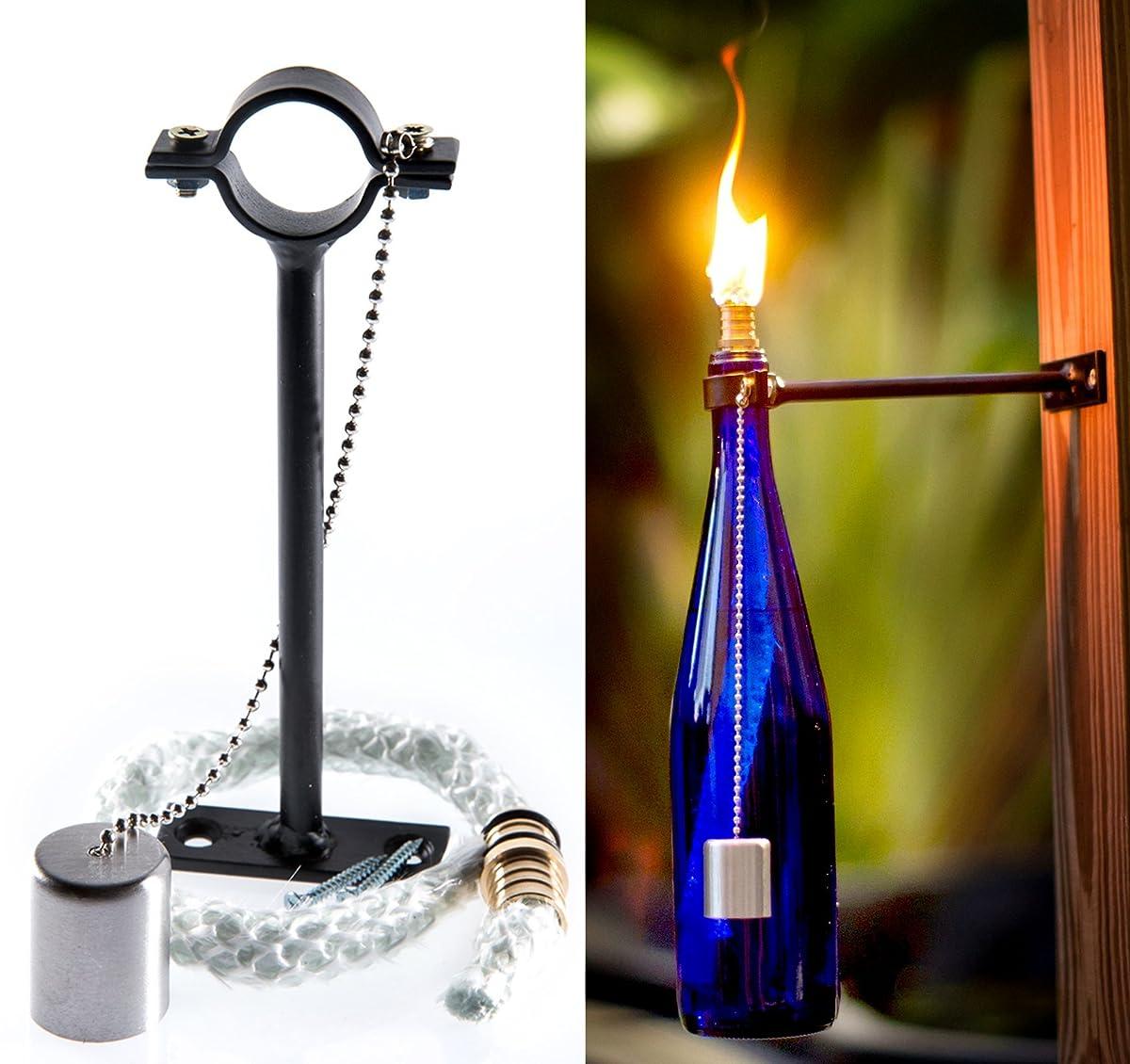 Wine Bottle Tiki Torch Kit