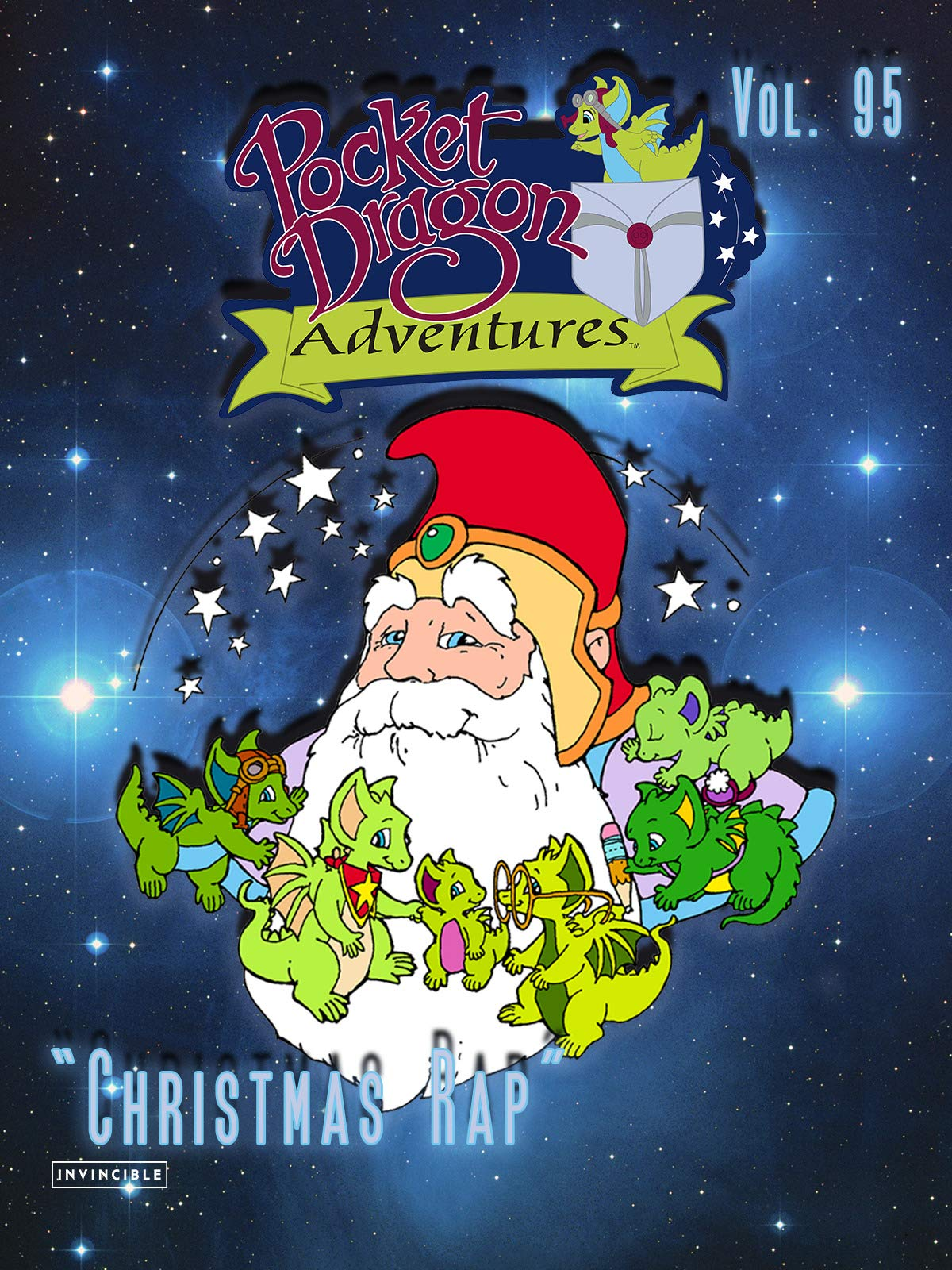 Pocket Dragon Adventures Vol. 95Christmas Rap