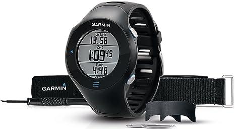 Garmin Forerunner 610 avec cardio-fréquencemètre - Montre de running avec GPS intégré - Noir
