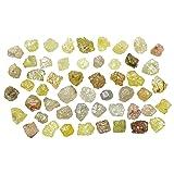 Natural Loose Diamond Uncut Rough Shape Mix Fancy Color 1.60 to 2.40 MM 2.00 Ct Lot Q54