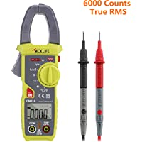 Tacklife CM02A Advanced 600 Amp Digital Clamp Meter