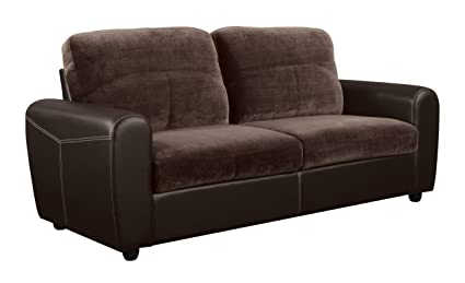 Global Furniture Sofa, Champion Chocolate Brown
