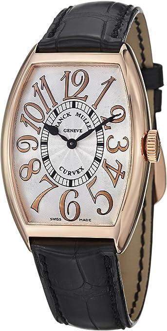 Franck Muller Cintrée Curvex Classic Rose Gold Watch 5852 QZ REL 5N