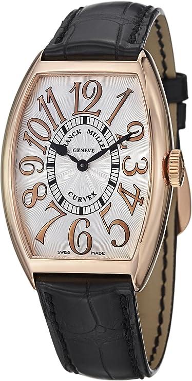 Franck Muller Cintrée Curvex Classic Rose Gold Watch