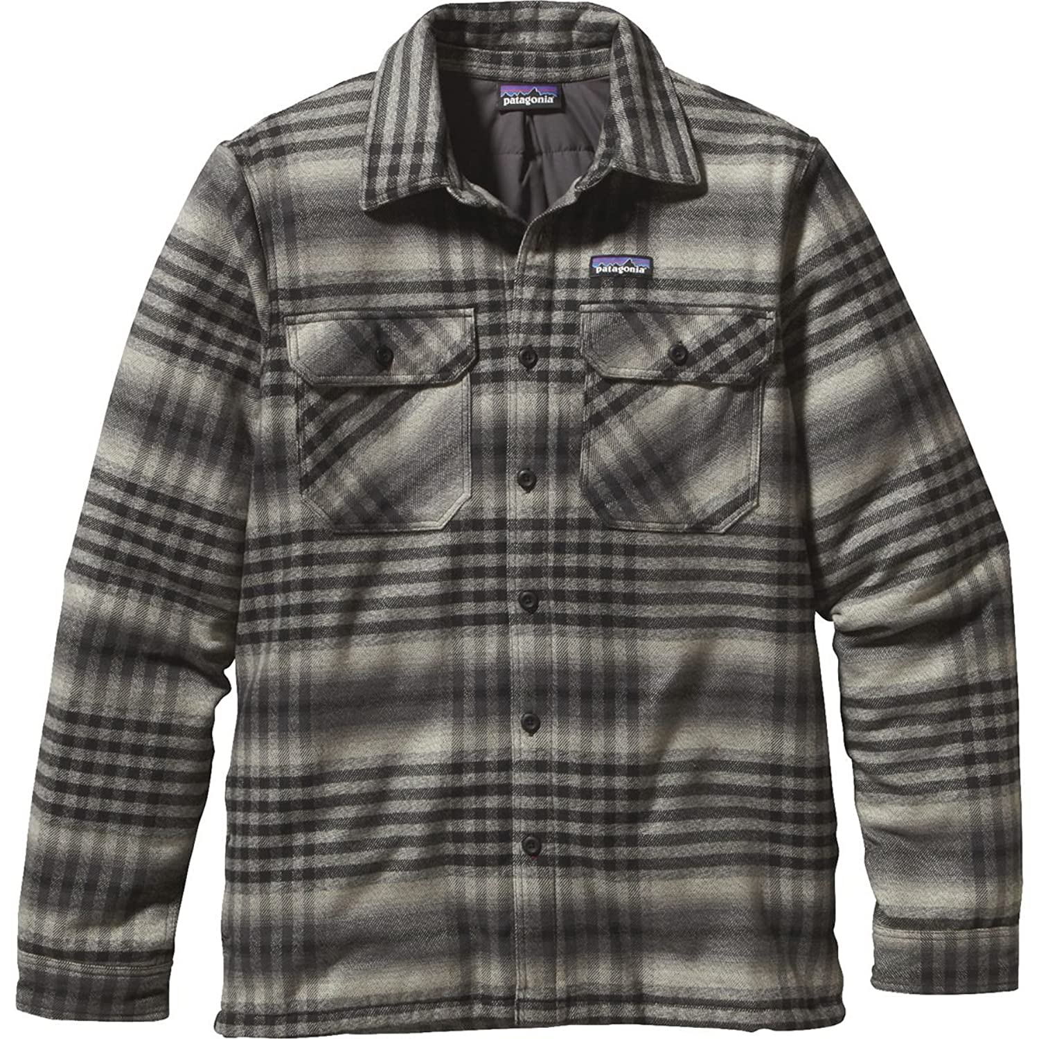 M's Insulated Fjord Flannel Jacket Winter Dusk: Black günstig online kaufen