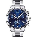 Tissot Men's Chrono XL Classic - T1166171104701 Blue/Grey One Size (Color: Blue/Grey, Tamaño: One Size)