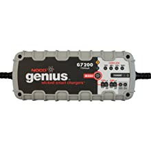 NOCO Genius G7200 12V/24V 7.2 Amp Smart Battery Charger and Maintainer